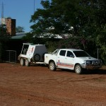 Outback Pest Control and Roxby Pest Management on site