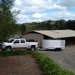 Mobile weed service for small acreage